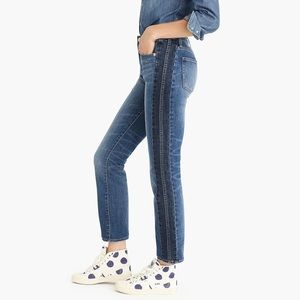 J.Crew Vintage Straight Two-tone Denim Jeans 28